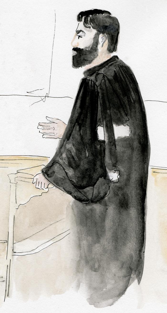 Un avocat de la défense