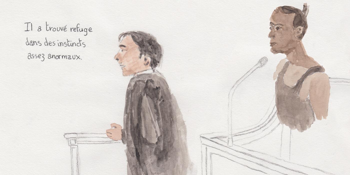 Henry et son avocat