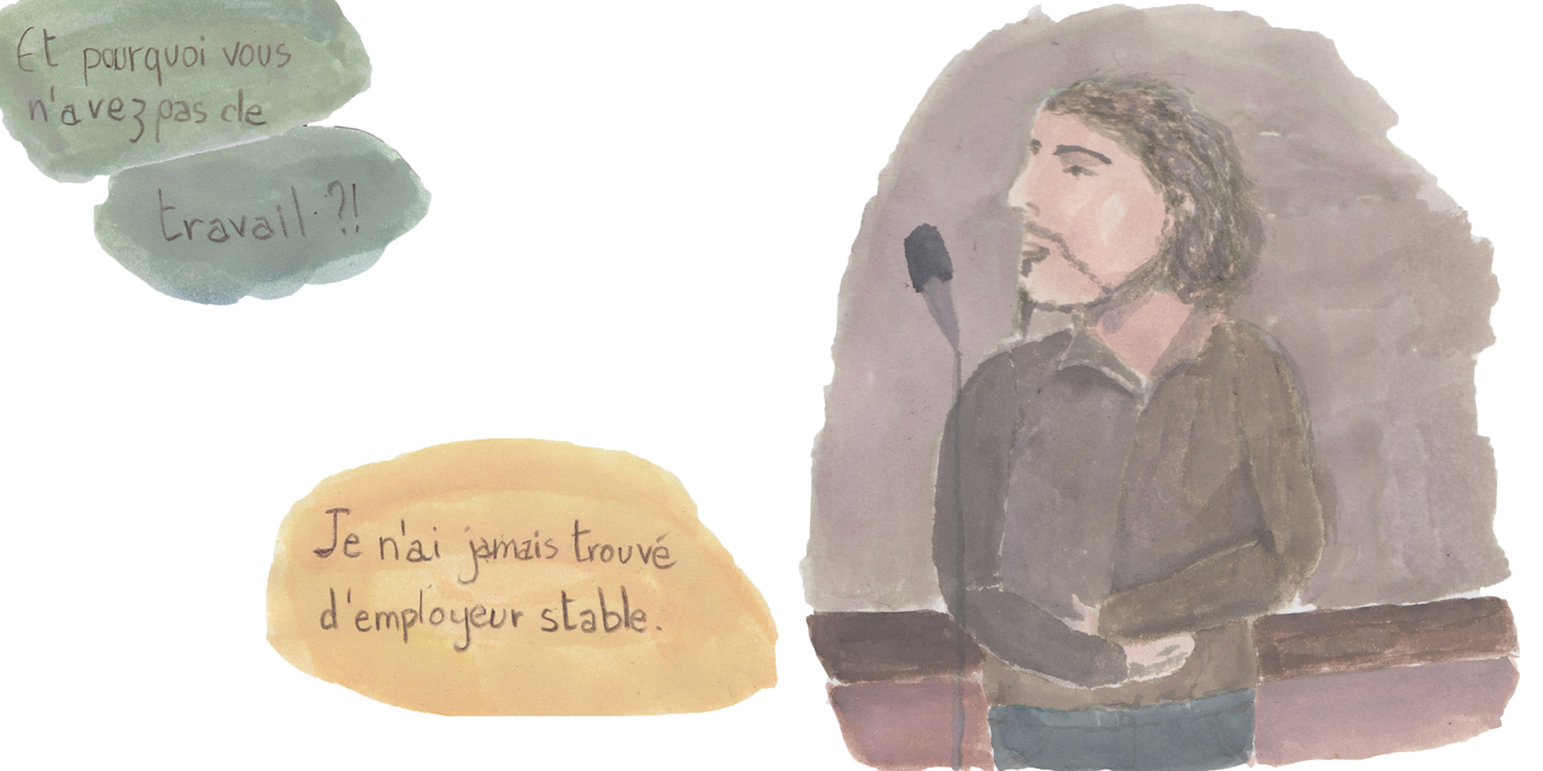 Stéphane. (Illustration : Pauline Dartois)