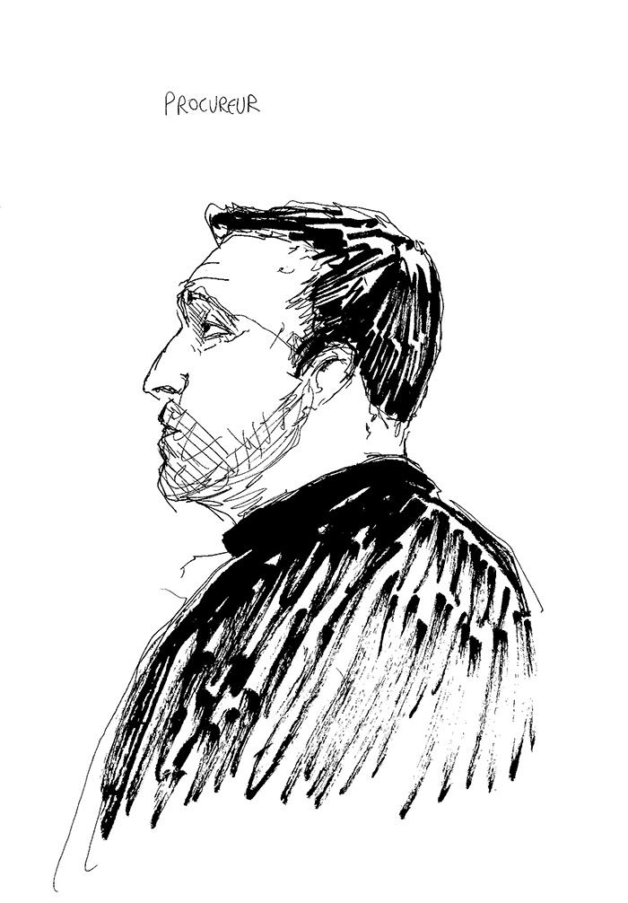 David Marcat a requis trois mois de prison avec sursis et 2000 euros d'amende contre Anthony. (Illustration: Pierre Budet)