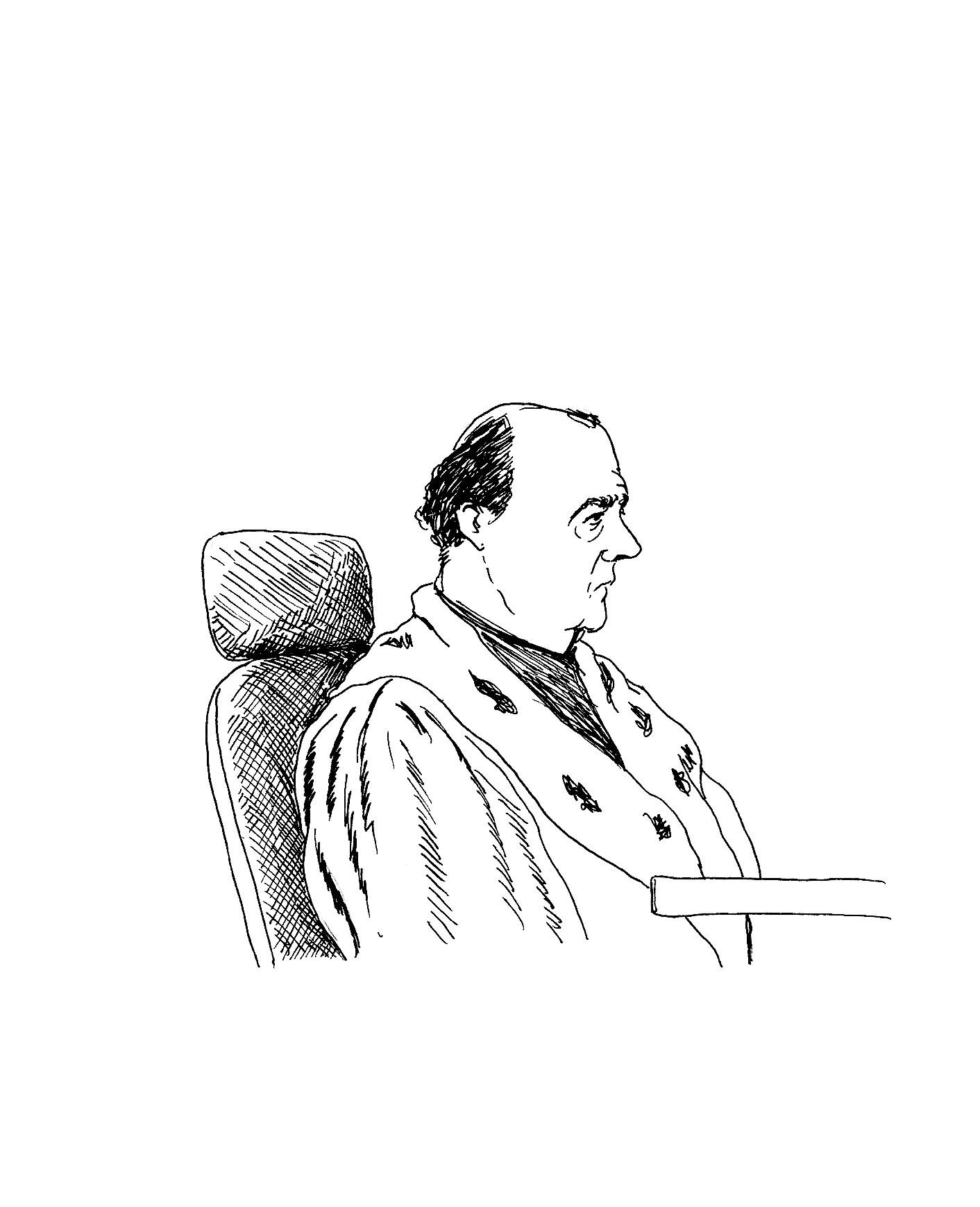 Christian Dreux, l'avocat général.