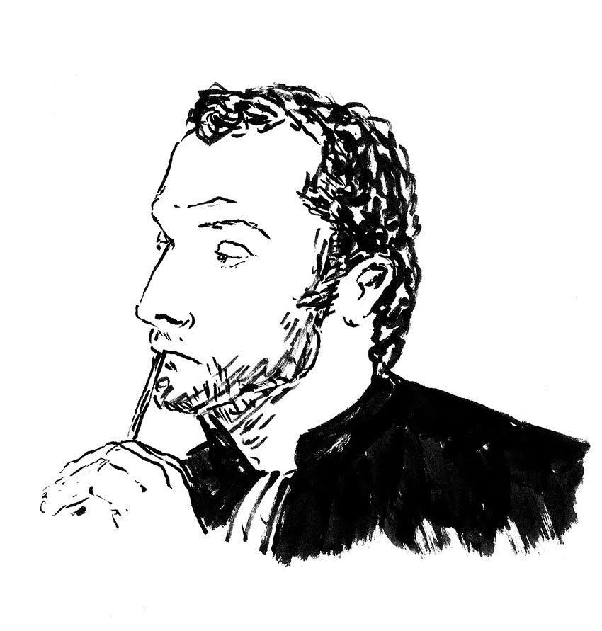 Le président du tribunal, Grégory Abiven. (Illustration: Pierre Budet)