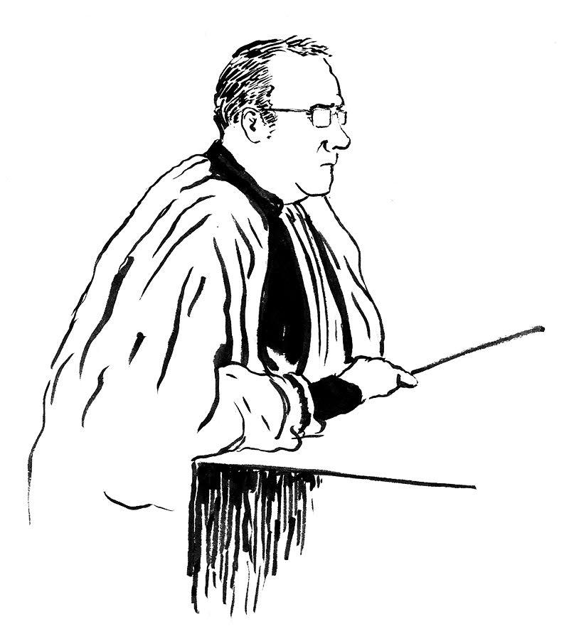 Martial Guillois, l'avocat général