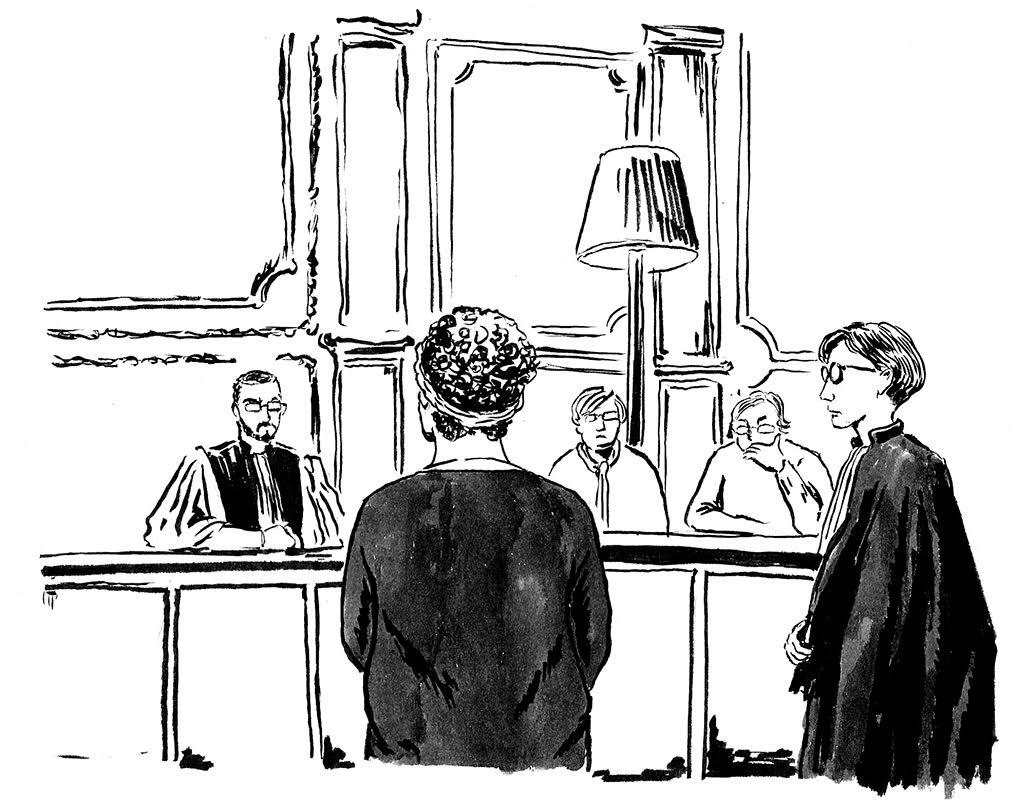 Marie-Christine Beydon témoigne devant la cour d'assises à Rennes