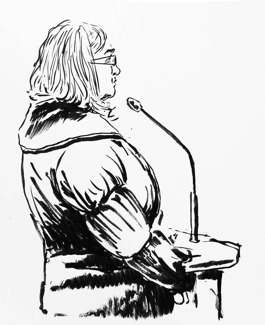 L'ex-matonne devant le tribunal de Rennes